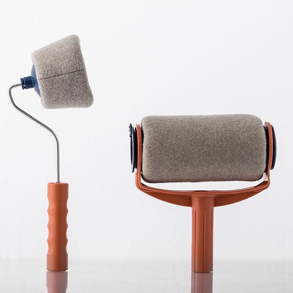 trafalet paint roller plus 2 dmailshop. Black Bedroom Furniture Sets. Home Design Ideas